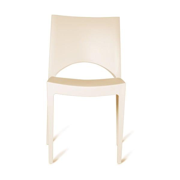 Sada 4 plastových židlí Roma