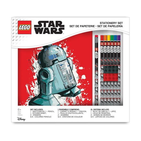 Set zápisníku a písacích potrieb LEGO® Star Wars