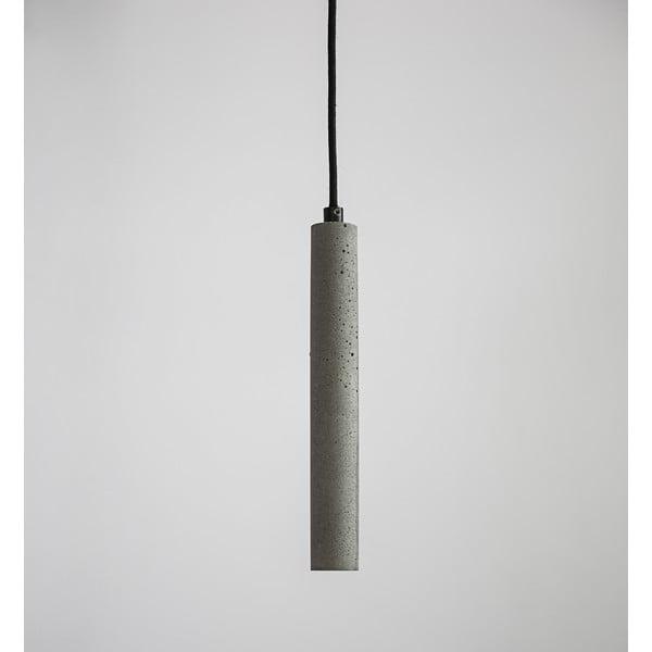 Závěsné stropní svítidlo BANG, betonové