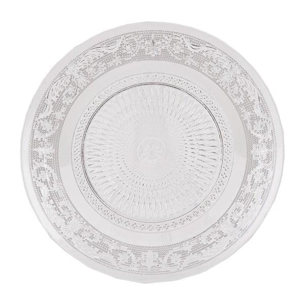 Skleněný talíř Clayre Eef, 20 cm