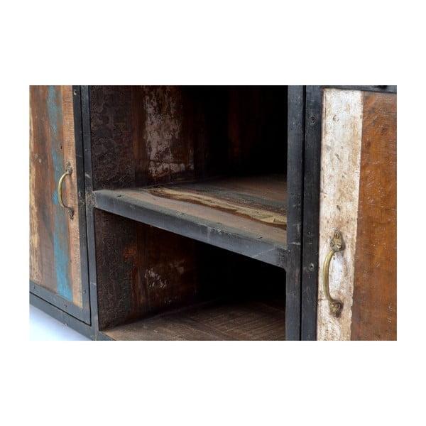 Dřevěná komoda India, 150 cm
