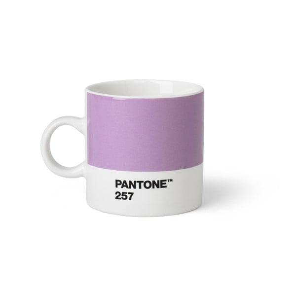 Cană Pantone Espresso, 120 ml, mov deschis