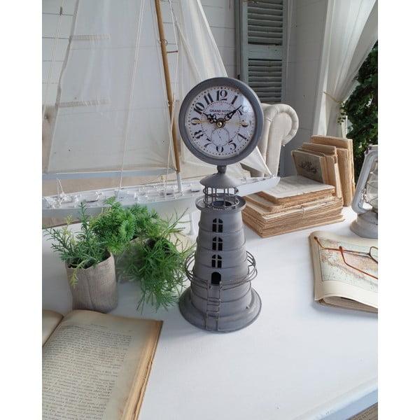 Stolní hodiny Clock Metallic
