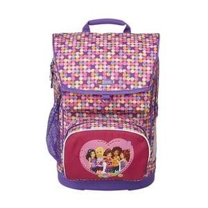 Školní batoh s taštičkou LEGO® Friends Confetti Maxi