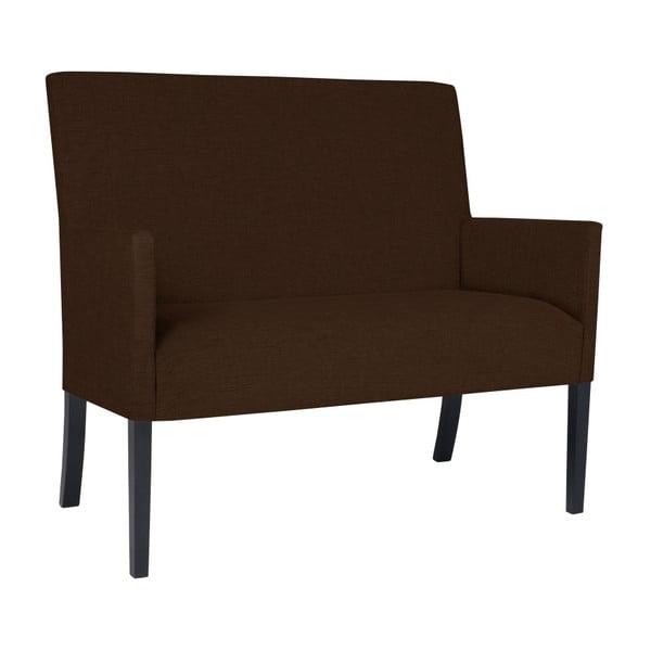 Tmavě hnědá lavice BSL Concept Rodo