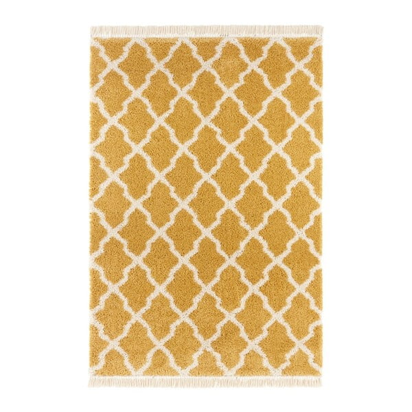 Horčicovožltý koberec Mint Rugs Galluya, 160 x 230 cm