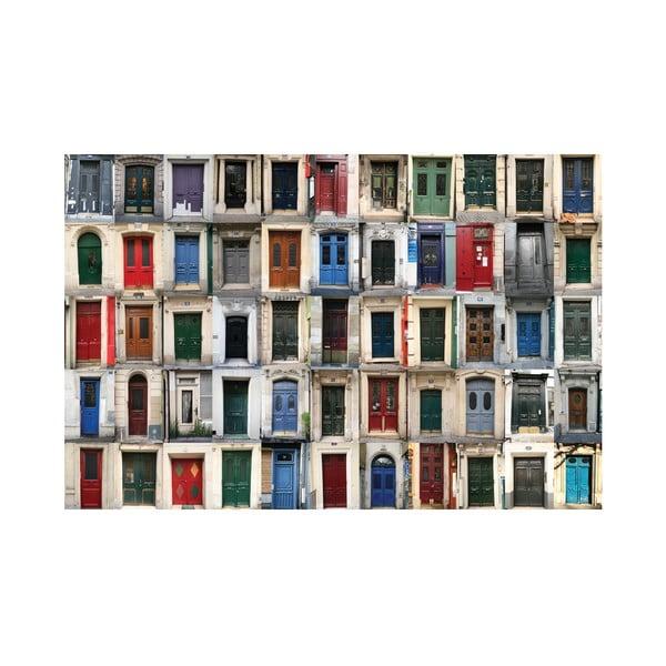 Fotoobraz Francouzské dveře, 90x60 cm