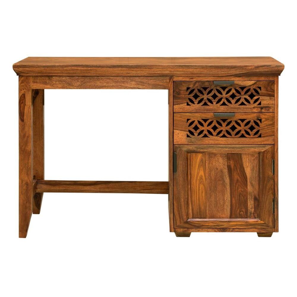 Pracovní stůl z masivního palisandrového dřeva Massive Home Rosie