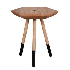 Příruční stolek z masivního dubového dřeva FLAME furniture Inc. Prizmata