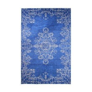 Oboustranný modro-šedý koberec Vitaus Lauren, 77 x 200 cm