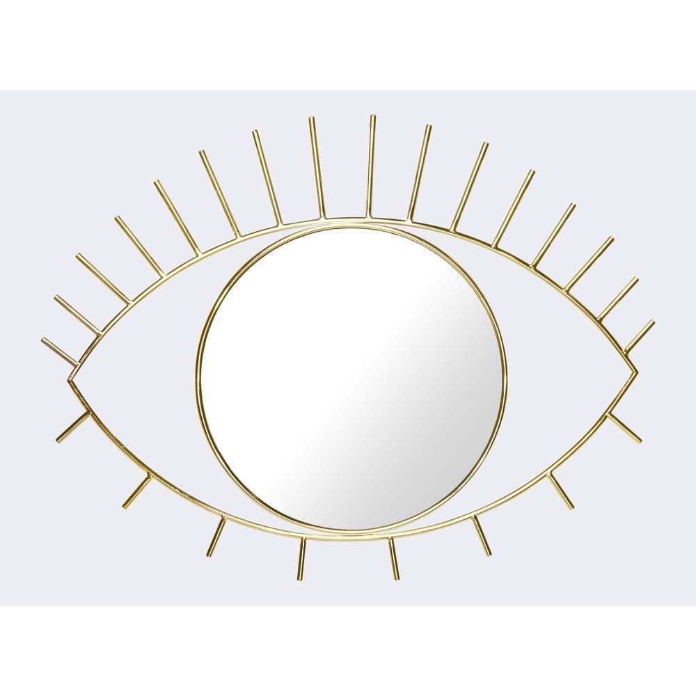 Nástěnné zrcadlo ve zlaté barvě DOIY Cyclops, 45,5 x 35 cm