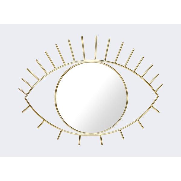 Oglindă de perete DOIY Cyclops, 45,5 x 35 cm, auriu