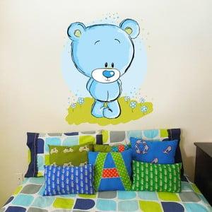 Samolepka na stěnu Roztomilý medvídek, 50x70 cm