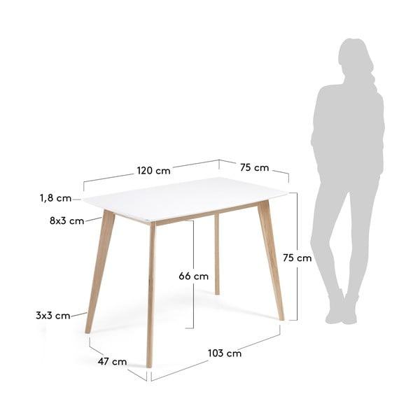 Jídelní stůl La Forma Unit, 75x125cm