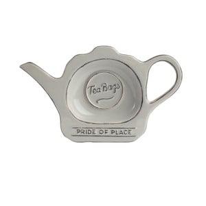 Suport din ceramică pentru pliculețe de ceai Pride of Place, gri