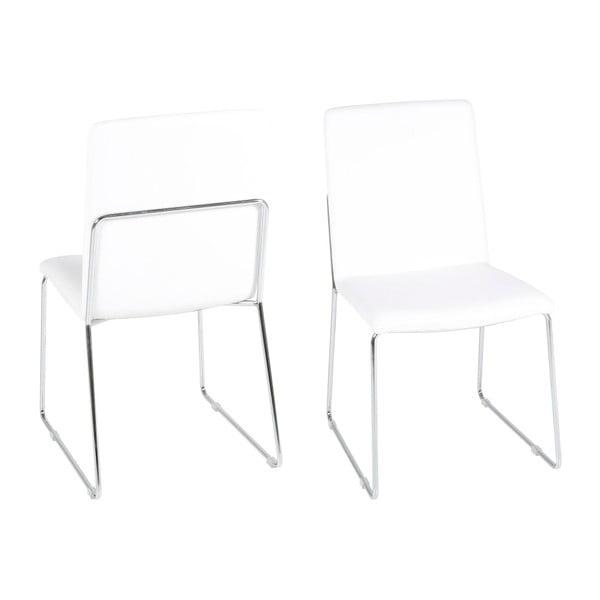 Białe krzesło Actona Kitos