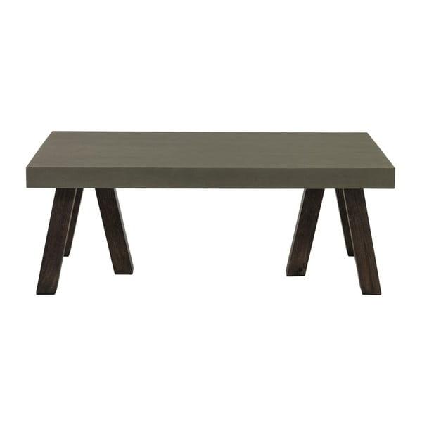 Konferenční stolek s betonovou deskou Fuhrhome Edison