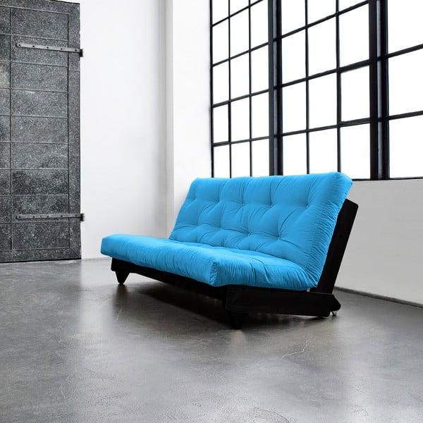 Canapea extensibilă Karup Fresh Wenge/Horizon Blue