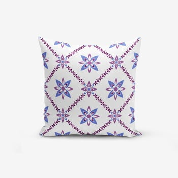 Față de pernă cu amestec din bumbac Minimalist Cushion Covers Colorful Flower, 45 x 45 cm de la Minimalist Cushion Covers