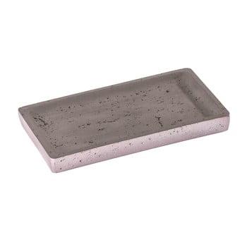 Tavă din beton Wenko Mauve, gri