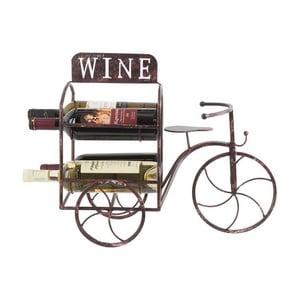 Stojan na víno Metal Bicycle