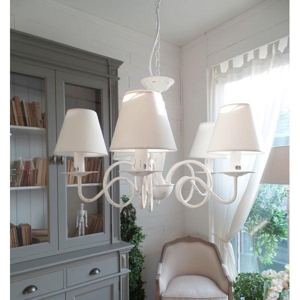 Lustr Antique White, 63x44 cm