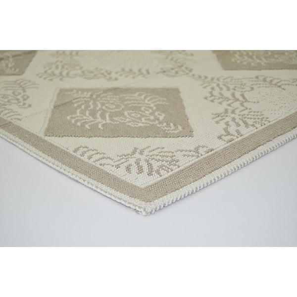 Béžový odolný koberec Vitaus Azalea, 120x180cm