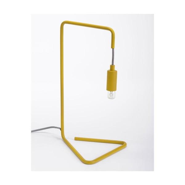 Žlutá stolní lampa ComingB Bureau Lampe