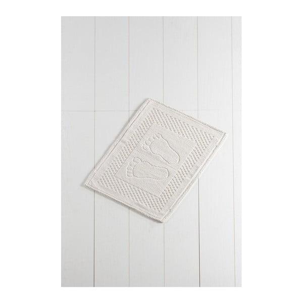 Beżowy dywanik łazienkowy Carrisma Mento, 70x50 cm