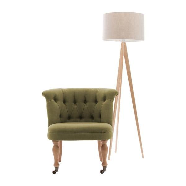 Židle ve zlaté barvě s kolečky Vivonita Maggi