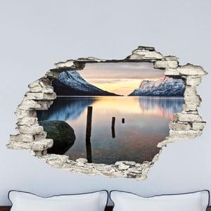 Autocolant Ambiance Landscape Lake