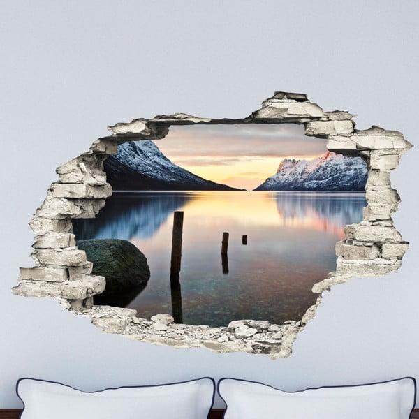 Samolepka Ambiance Landscape Lake, 60 x 90 cm