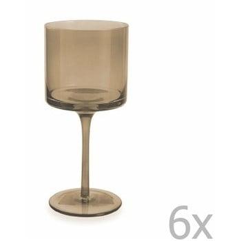 Set 6 pahare pentru vin Villa d'Este Cata, 450 ml, maro imagine