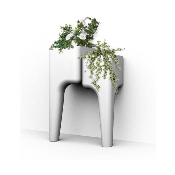 Designový květináč KIGA Small 88x34 cm, bílý