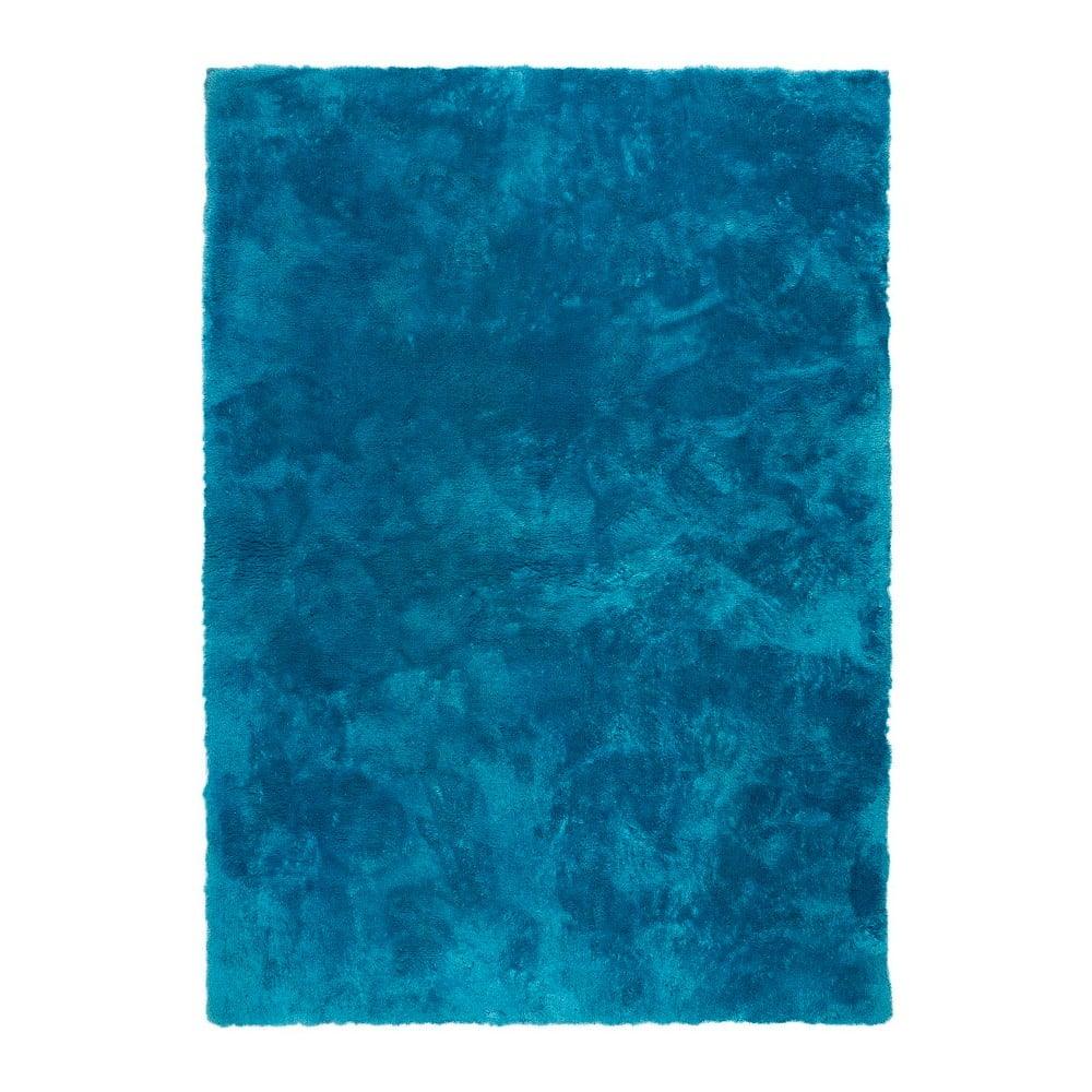 Modrý koberec Universal Nepal Liso Azul, 60 x 110 cm