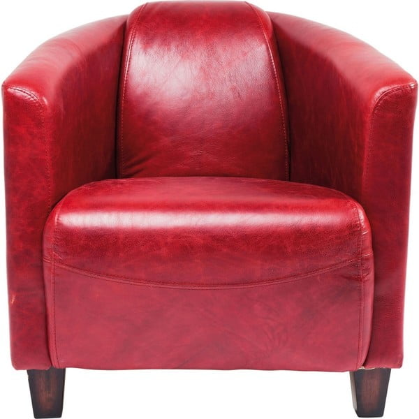 Cigar Lounge piros fotel - Kare Design