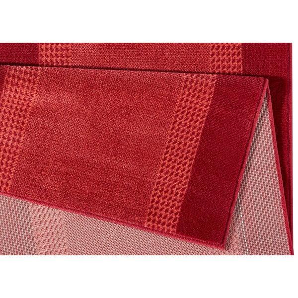 Koberec Basic, 80x250 cm, červený