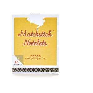 Blocnotes în formă de cutie de chibrituri Luckies of London Matches