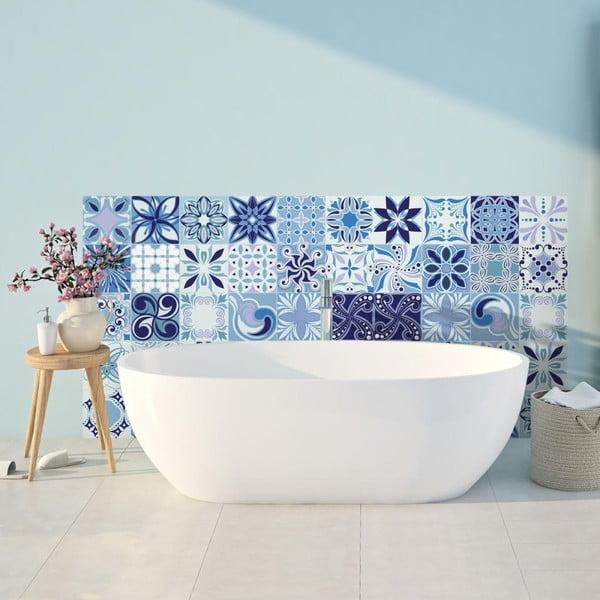 Madeira 30 részes dekorációs falmatrica szett, 15 x15 cm - Ambiance