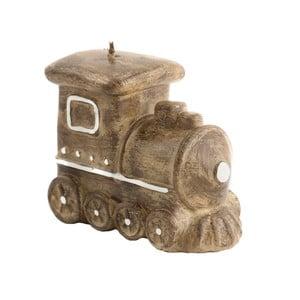 Dekorační svíčka ve tvaru mašinky Ego Dekor