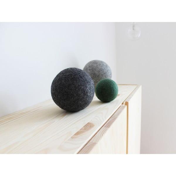 Zestaw 3 dekoracyjnych kul wełnianych Wooldot Ball Set Forest