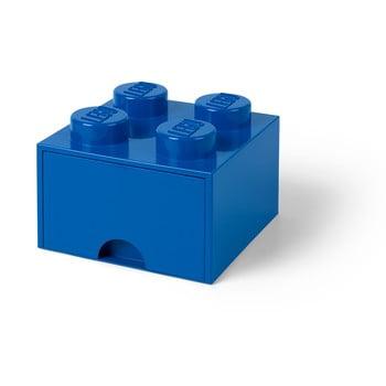 Cutie depozitare cu sertar LEGO®, albastru de la LEGO®