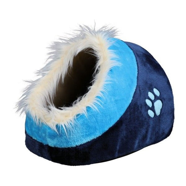 Pelíšek pro psy i kočky Minou, modrý