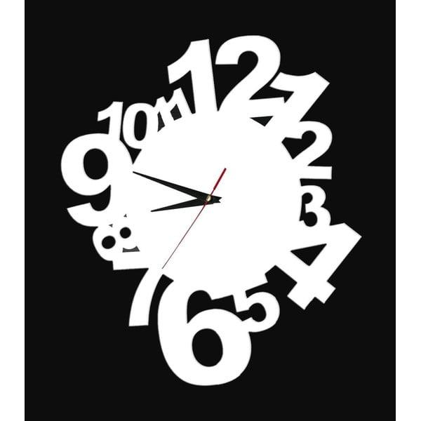 Dekorativní nalepovací hodiny Modern Numbers