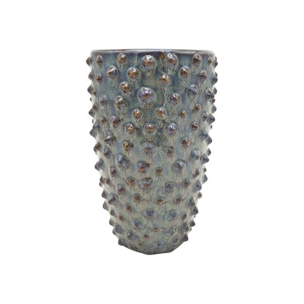 Szary wazon ceramiczny PT LIVING Spotted, wys. 25 cm