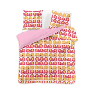 Lenjerie de pat din microfibră DecoKing CuteElephants, 200 x 200 cm