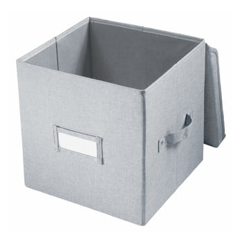 Cutie pentru depozitare iDesign Codi, 32 x 27,9 cm, gri imagine