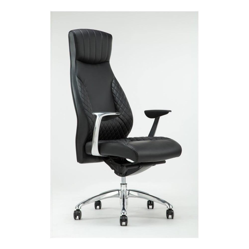 Černá otočná kancelářská židle RGE Luxe