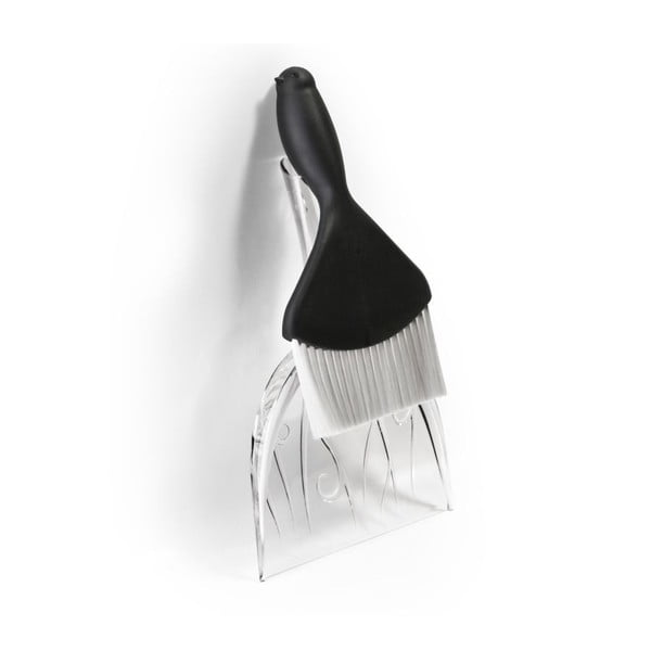 Sweepie Sparrow fekete kislapát seprűvel - Qualy&CO
