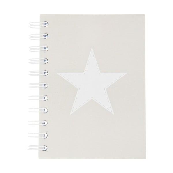 Sešit Stars Grey